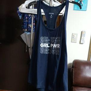 Girl power muscle tee